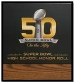 Superbowl Honor