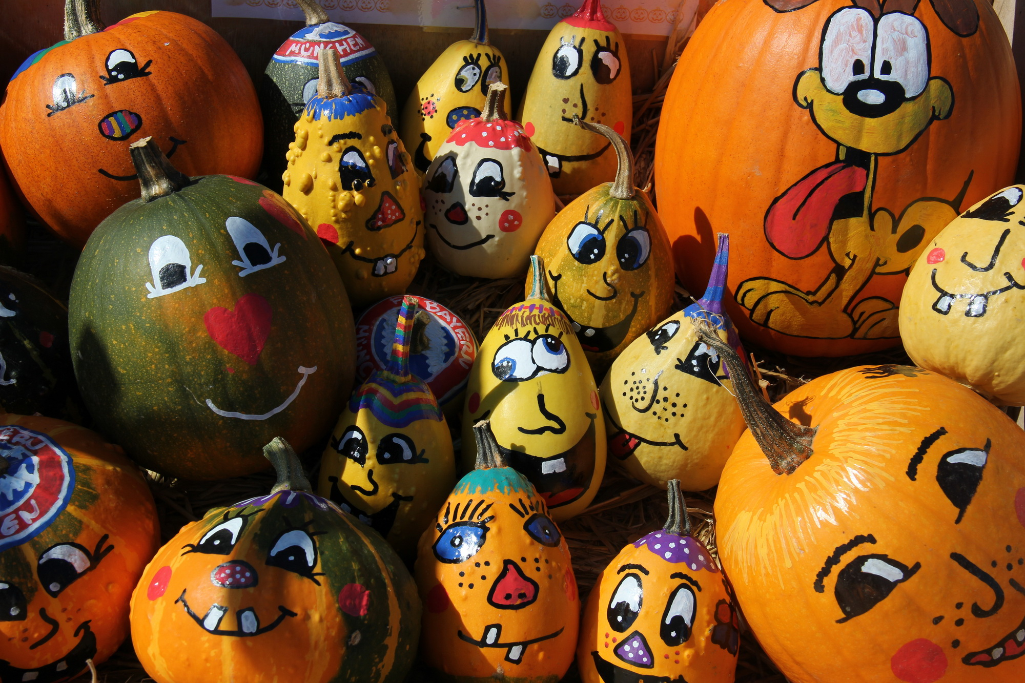 Campbell tintah school overview Funny pumpkin painting ideas